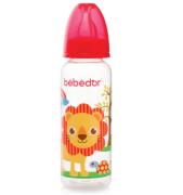 Bebedor - Bebedor Desenli PP Biberon 250 Ml Kırmızı 3Ay+