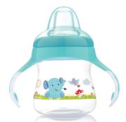 Bebedor - Bebedor Yumuşak Uçlu Alıştırma Bardağı 6+ Ay Mavi