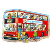Orchard Toys - Orchard Toys Büyük Otobüs Yapboz 2 - 5 Yaş