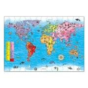 Orchard Toys - Orchard Toys Dünya Haritası 5 - 10 Yaş