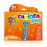 Carioca - Jumbo Bebek Keçeli Boya Kalemi 6lı