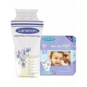Lansinoh - Lansinoh Anne Sütü Saklama Poşeti 50 Adet
