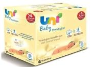 Uni Baby - Uni Baby Yenidoğan Islak Pamuk Mendil 24lü Fırsat Paketi / 960 Yaprak