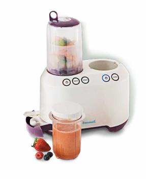 Weewell Petit Chef Mama Hazırlama Robotu Sterilizatör - Mama Isıtıcı - Blender - Buharlı Pişirici